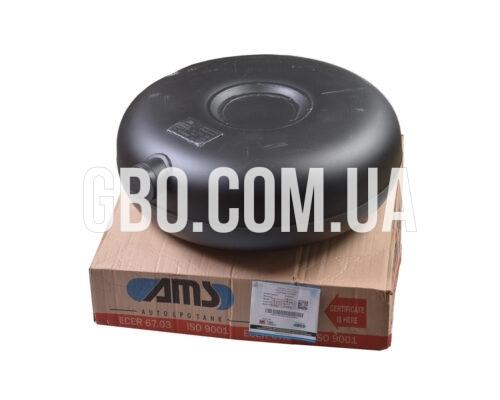 Баллон тороидальный 45л 600х200мм наружный полнотелый, AMS+ добавить лента крепления код 40776