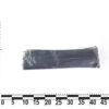 Стяжка пластиковая 370х4,0мм черная (100 шт.) уп. 10943