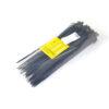 Стяжка пластиковая 250х5,0мм черная (100 шт.) уп.