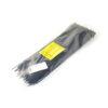 Стяжка пластиковая 300х5,0мм черная (100 шт.) уп.