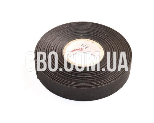 Изолента лавсановая Coroplast, 19мм, черная 50м (легко рвущаяся) аналог оранжевой надписи