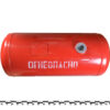 Баллон цилиндрический 105л 1064х376мм, НЗГА (красный) 11583