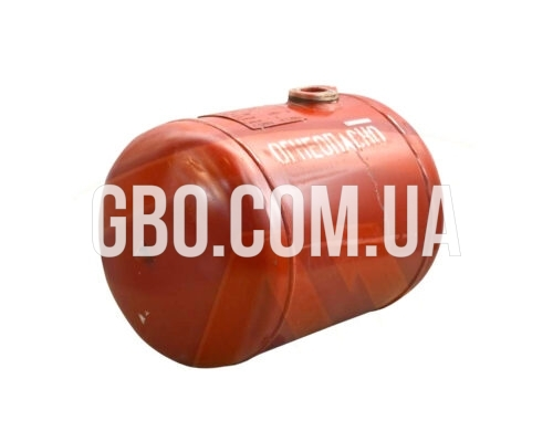 Баллон цилиндрический 50л 550х376мм, НЗГА (красный)