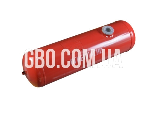 Баллон цилиндрический 40л 651х300мм, НЗГА (красный)
