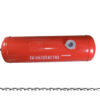 Баллон цилиндрический 40л 651х300мм, НЗГА (красный) 11627