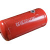 Баллон цилиндрический 90л 919х376мм, НЗГА (красный)