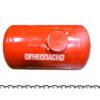Баллон цилиндрический 151л 923х490мм, НЗГА (красный) 11590