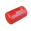 Баллон цилиндрический 65л 689х376мм, НЗГА (красный)