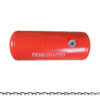 Баллон цилиндрический 100л 1008х376мм, НЗГА (красный) 11573