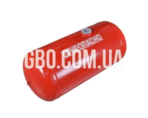Баллон цилиндрический 100л 906х400мм, НЗГА (красный)