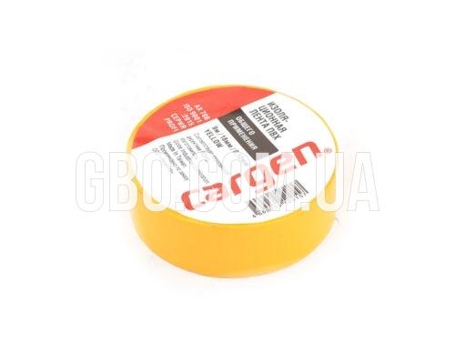 Изолента ПВХ 9м желтая