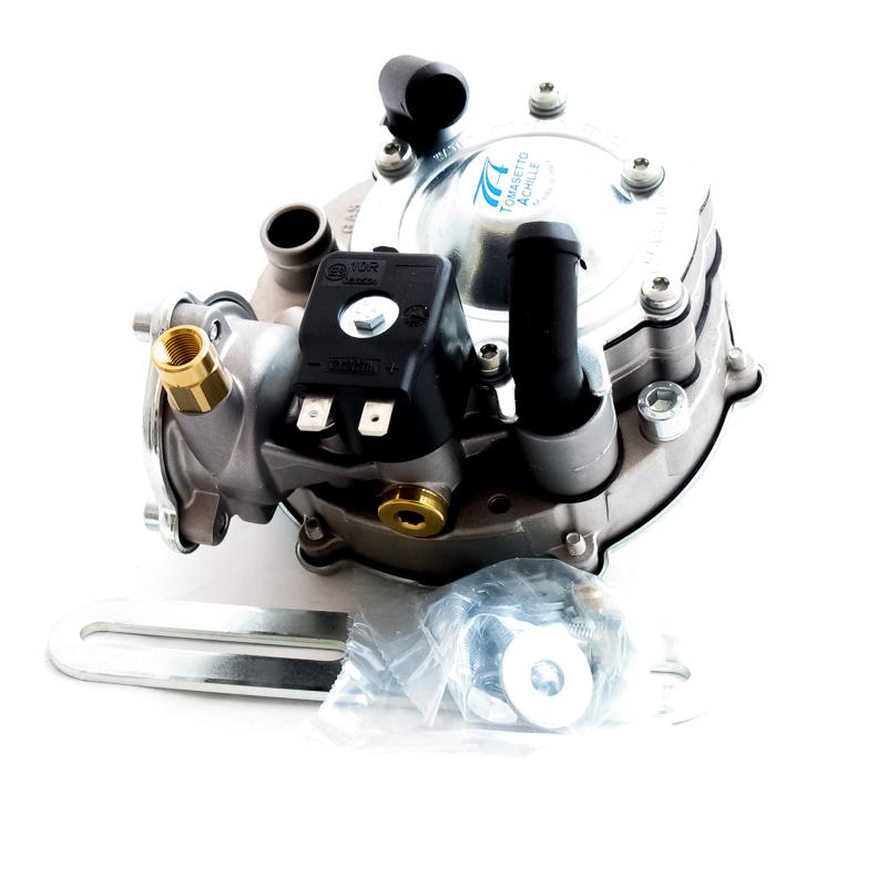 Как работает газовый редуктор Tomasetto AT07