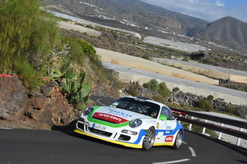 Porsche с ГБО всходит на вершину