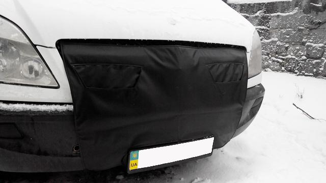 Утеплитель радиатора маска Mercedes Sprinter 2006-2013