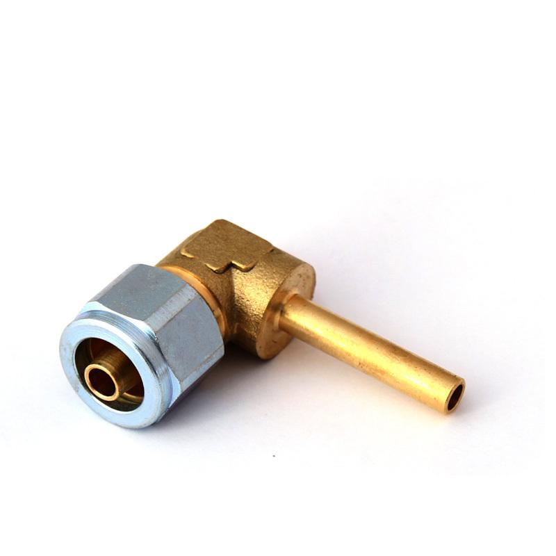 Фитинг FARO для термопластиковой трубки Ø8(M16x1)хØ6 угловой 90° в сборе