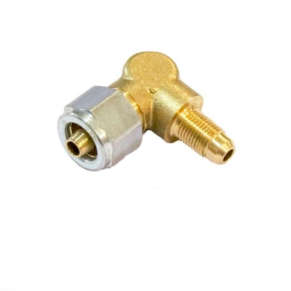 Фитинг FARO для термопластиковой трубки Ø6(M14x1)хØ6(М10х1) угловой 90° в сборе