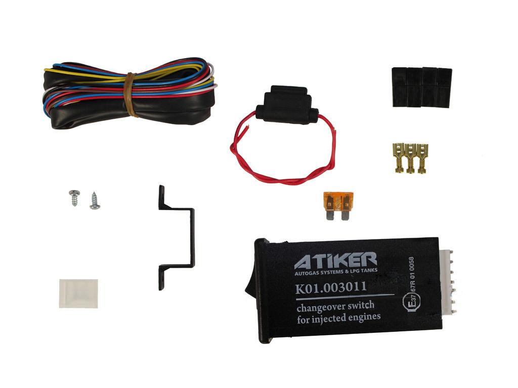 Переключатель газ-бензин Atiker электронный инжектор