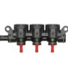 Форсунки AEB 3 цил с жиклерами - с жиклерами 2,6 мм