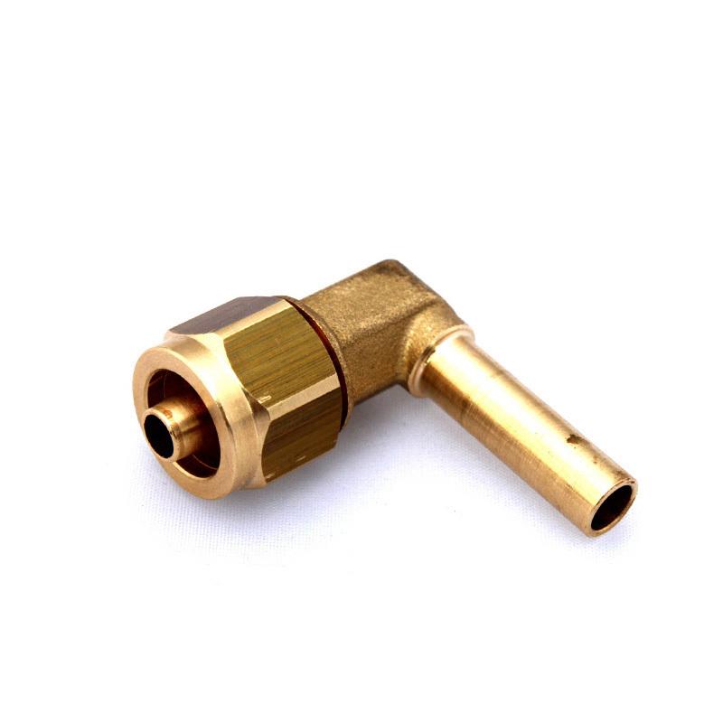 Фитинг FARO для термопластиковой трубки Ø8(M16x1) угловой 90° в сборе