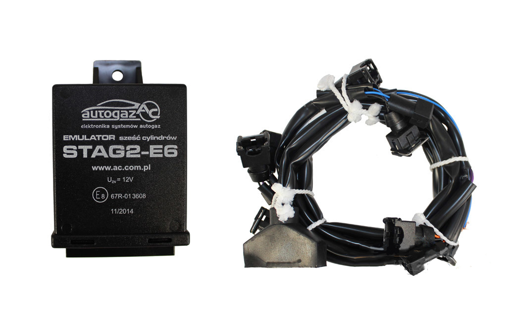 Эмулятор форсунок STAG 2-E6 Europe/Bosch