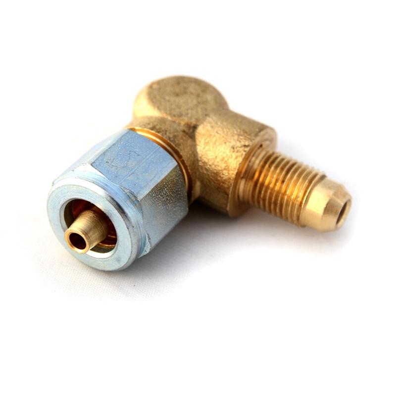 Фитинг FARO для термопластиковой трубки Ø8(M16x1)хØ8(M12x1) угловой 90° в сборе