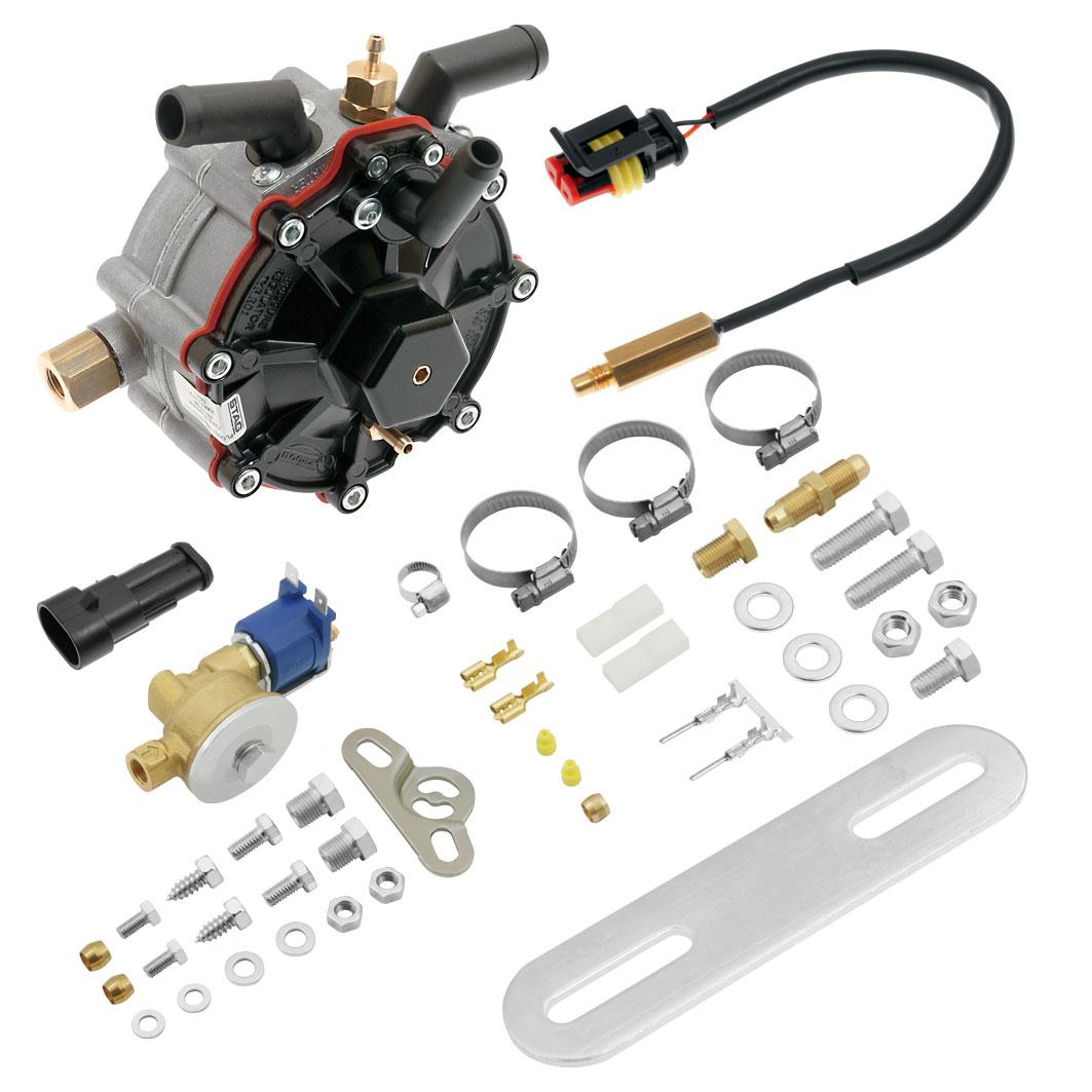 Редуктор AC STAG R02  100 кВт (136 л.с.) с ЭМК газа 6134