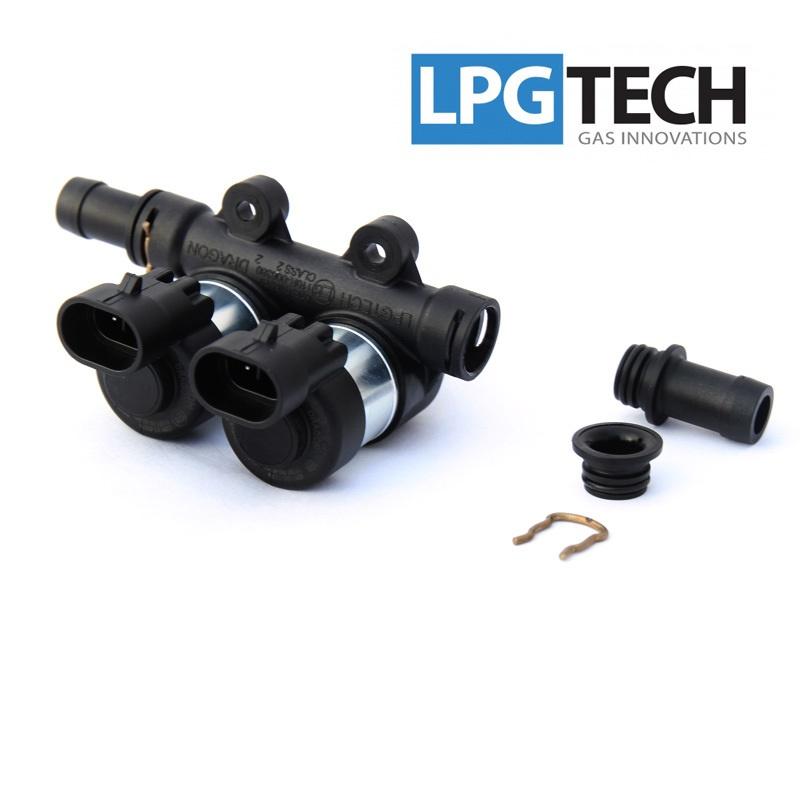 Форсунки LPGTech DRAGON, 2 цил. 2 Ом 6020