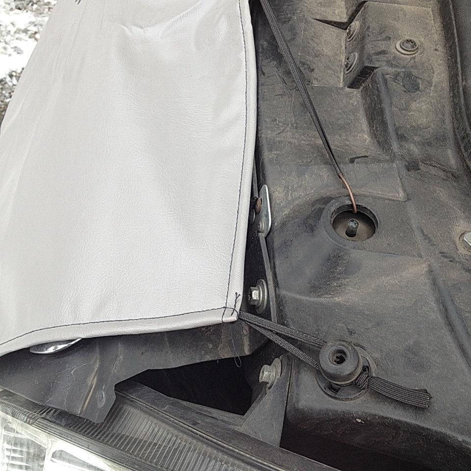 Утеплитель радиатора маска Opel Vivaro 6108