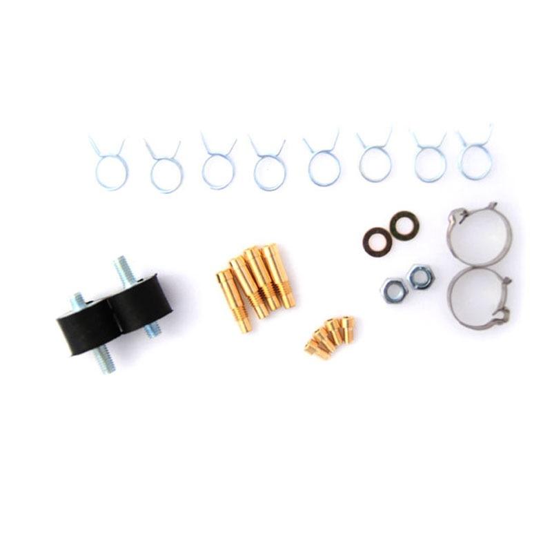 Форсунки OMVL 4 цил. 3 Ом с жиклерами и штуцерами в коллектор 6038