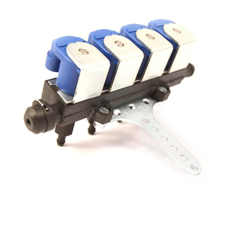 Форсунки Tomasetto mod. IT01, 4 цил. 2 Oм, со штуцерами в коллектор 6031