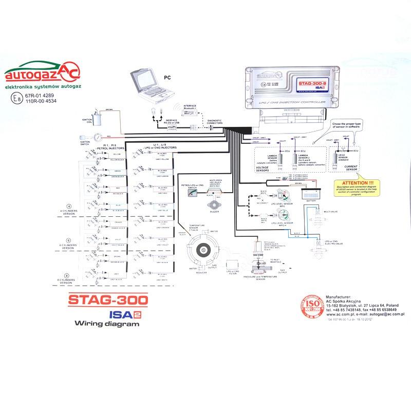 Электроника STAG 300-8 ISA2 6129