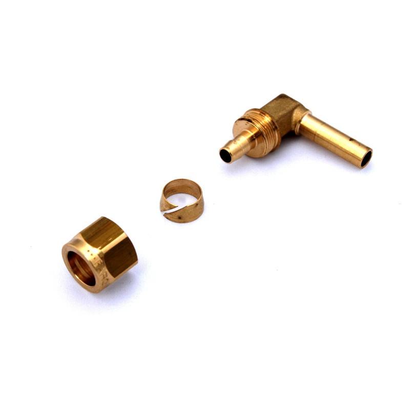 Фитинг FARO для термопластиковой трубки Ø6(M14x1) угловой 90° в сборе